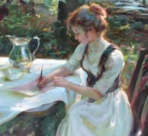 Image result for writers painting