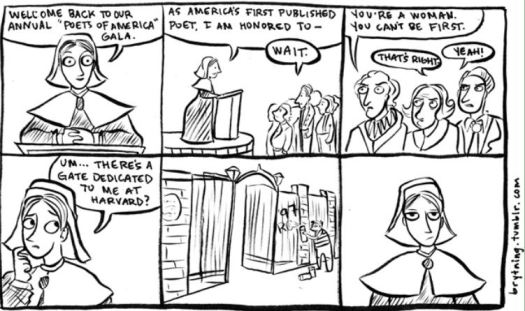 anne bradstreet cartoon