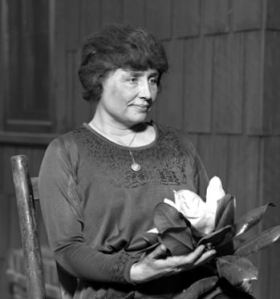 Helen Keller 1920