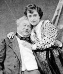Adah and Alexander Dumas