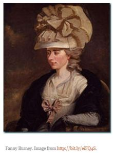 Frances Burney portrait