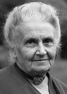 Maria Montessori featured on www.womenwordswisdom.com